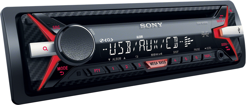 Sony car stereo units with Bluetooth, USB, iPod, reverse camera